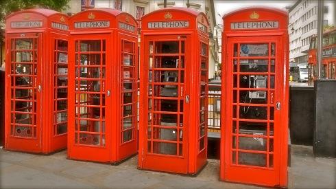 Cabinas rojas Londres